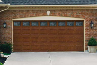 in Medium or Cherry finishes that complement Clopay Entry Doors, shutters and other exterior stained wood products.