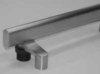 Specify AA3620 1 x 1½ Oval Specify Architectural appeal best describes the AA3000 series of door pulls.