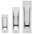 Symmetry Series - Accessories Sliding Door Sets s Function 7300 Square Sliding Doorset Privacy 7350 Square Sliding Doorset Passage 7506 Square Sliding Doorset Flush Pull 7400 Round Sliding Doorset