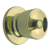 or unlocks the knob Turn Button Turning of the button locks or releases the outside knob Handing All knobsets feature a solid brass reversible latch to suit either hand of door
