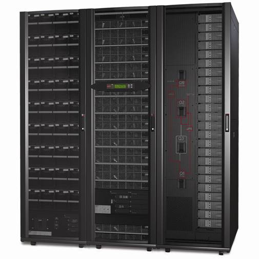 Symmetra PX 100 with Modular Power Distribution The APC Symmetra PX 100KW with Power Distribution enhances the scalability of the Symmetra PX 100 UPS by combining it with APC s uniquely designed