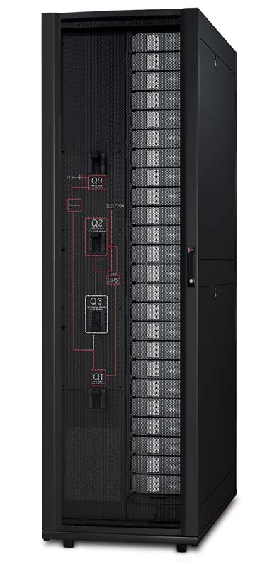 The 100kW Modular PDU enables you to safely expand your power distribution system without hot work or scheduled downtime, and with its integrated Maintenance Bypass Panel, you can perform routine