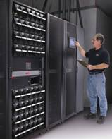 flexibility in choosing an installation site that today's data centers require - White space - Top Feed, Bottom Feed - Single Feed, Dual Feed > 10kW to 100kW expansion with hot-scalable power modules