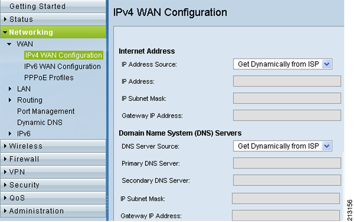 Figure 2 Verifying WAN Configuration Figure 3 Adding a New Hostname on the dyndns.