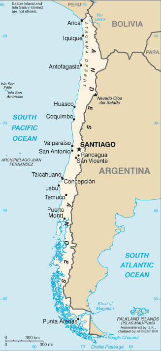 IOPS COUNTRY PROFILE: CHILE DEMOGRAPHICS AND MACROECONOMICS GDP per capita (USD) 15 500 Population (000s) 16 888 Labour force (000s) 7 580 Employment rate 91.3 Population over 65 (%) 9.
