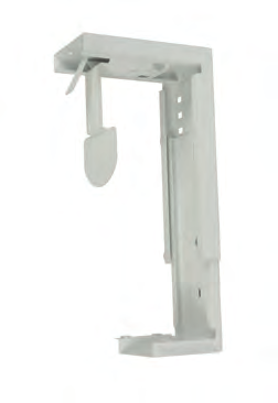 weight capacity 9kg CPU Holder DLCPU-S DLCPU-WH Silver White Large CPU Holder for fixing to desk top,
