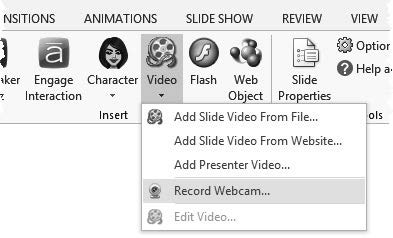 If this happens, use this drop-down menu to select your webcam.