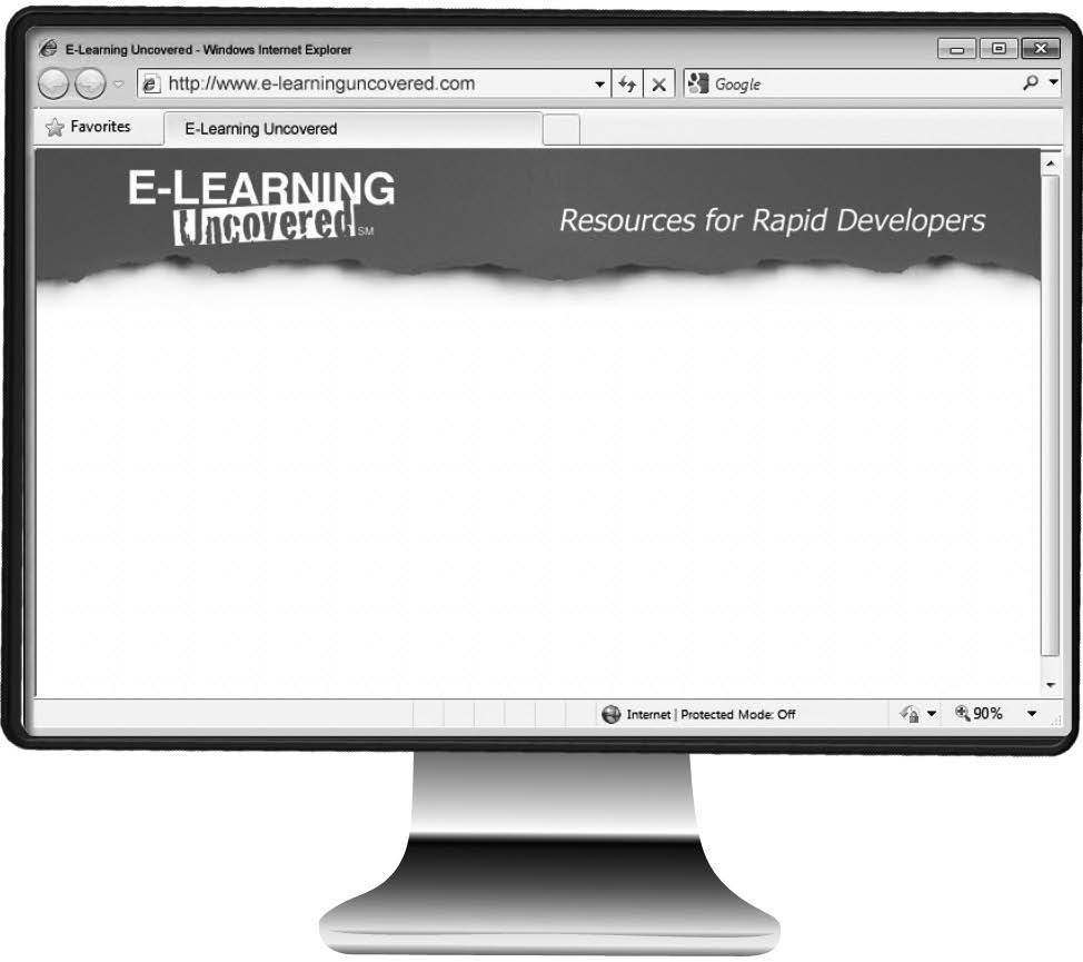 38 E-Learning Uncovered: Articulate Studio 13 Notes Visit the companion site at: www.elearninguncovered.com 1.
