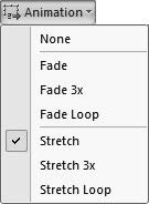 If you d like to see the slide elements slightly through the shape, select the Semitransparent Fill option.