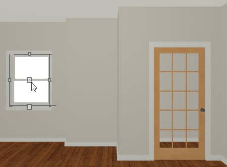 "Home Designer Interiors 2014 User s Guide 4. On the General tab, set the Door Style to Glass and set the Width to 36"". 5. On the Frame & Lites tab, set the Frame Bottom to 8 inches."