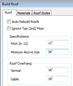 Creating Dormers 7. Select Build> Floor> Build New Floor. 8. Check the Derive new 2nd floor plan from 1st floor plan option in the New Floor dialog and click OK to display the Floor 2 Defaults dialog.