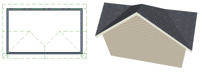 Troubleshooting Roof Issues different condition over a particular wall, such as a triangular gable or side wall of a shed roof, you can specify that condition on the Roof tab of the Wall