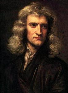 Isaac Newton (1642-1727) English physicist, mathematician, astronomer, natural philosopher, alchemist and