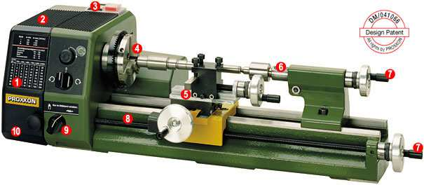 Seite 1 von 9 Expandable lathe/milling system made in Europe. Visible and tangible constant precision. Lathe system PD 230/E Usable on materials such as steel, brass, aluminium and plastic.