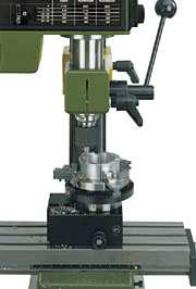NO 24 140 Dividing attachment TA 230 for PF 230 Facilitates the machining of gear teeth and non-concentric patterns.