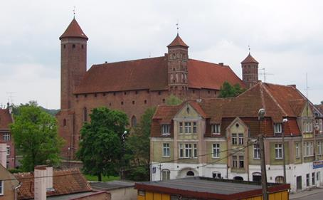 The history of these towns as well as their more Figure 1. The towns of Warmia.