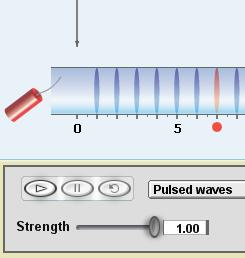 Name: Date: Student Exploration: Longitudinal Waves Vocabulary: antinode, compression, displacement, frequency, interference, longitudinal wave, medium, node, rarefaction, standing wave Prior