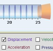 Extension: Standing waves Get the Gizmo ready: Click Reset, and select a Closed tube. Set the Strength to 0.10 and Freq. to 14 Hz. Check that Displacement is on.