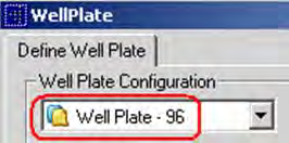 Example Workflow 1. Select a template from the drop- down list. For example, select Well Plate -96. 2.