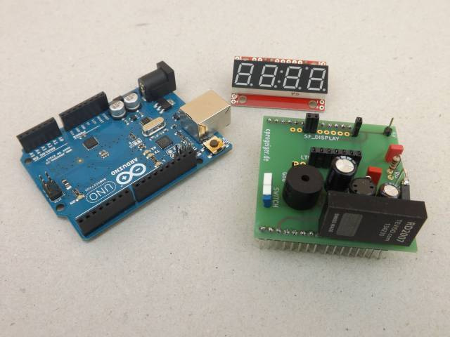 The Radiation Measurement Shield Tino for the Arduino and Arduino
