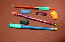 Problems with the Pencil Ineffective pencil grasp o Provide pencil grips that promote proper grasp.