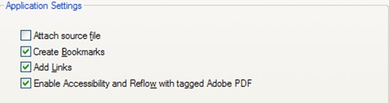 Setup of Adobe Acrobat to ensure accessibility: To configure the Adobe conversion settings: 1. From the Acrobat tab select on the Preferences icon. 2.