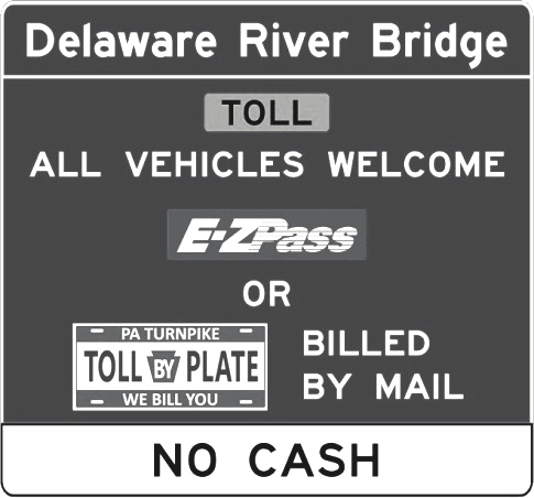 PA Turnpike TOLL BY PLATE CASHLESS TOLLING: DELAWARE RIVER BRIDGE AND COMING SOON TO THE BEAVER VALLEY EXPRESSWAY TOLL PA WE BILL YOU PLATE PA Turnpike TOLL BY PLATE is the license plate tolling