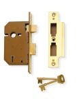Lever Mortice: Security Range 5 Lever 3U1 3U75 3U177 3U277 3U1 Deadlock 3U75 Sashlock 5 Lever mechanism suitable for use on external doors. operation from both sides of the door.