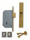 Lever Mortice: High Security Range Detainer 3G135 3G1 3G117 3G227 3G135 Deadlock 3G1 Deadlock operation from both sides of the door. 74,000 key variations. Extra keys only available direct from Chubb.