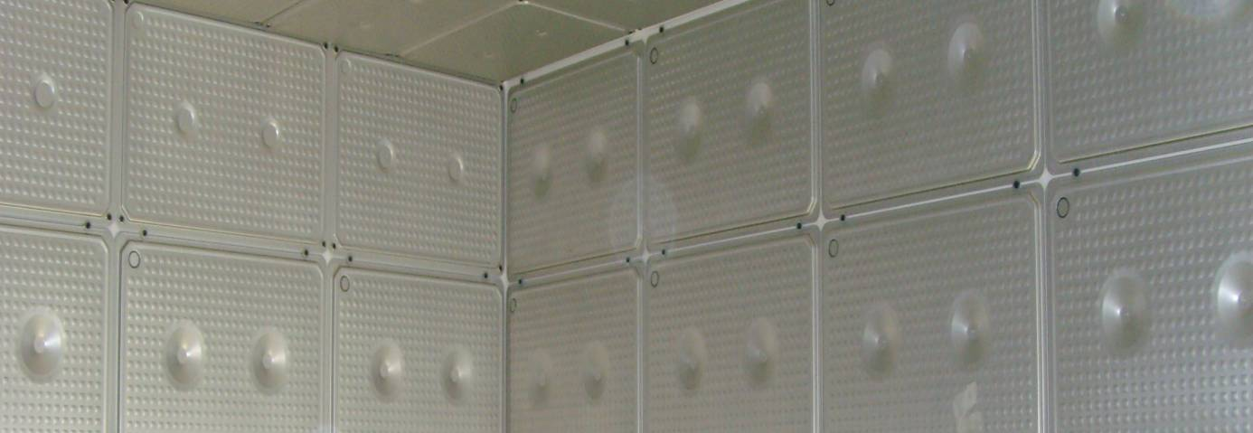 in experimental room were installed totally 240 panels filled by salt hydrate; the panels were installed on the internal surface of three walls, on the horizontal suspended ceiling and sloped ceiling