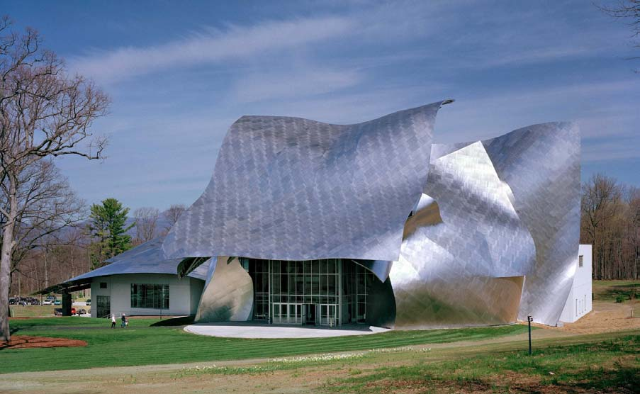 Home-Town Service Shares the World Stage with Gehry at Bard College by Alan Hardiman Designed by Frank Gehry, the Richard B.