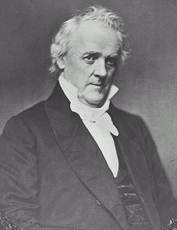 However, James Buchanan (Northern Democrat) elected President 1856 as a compromise to appeal to both North & South
