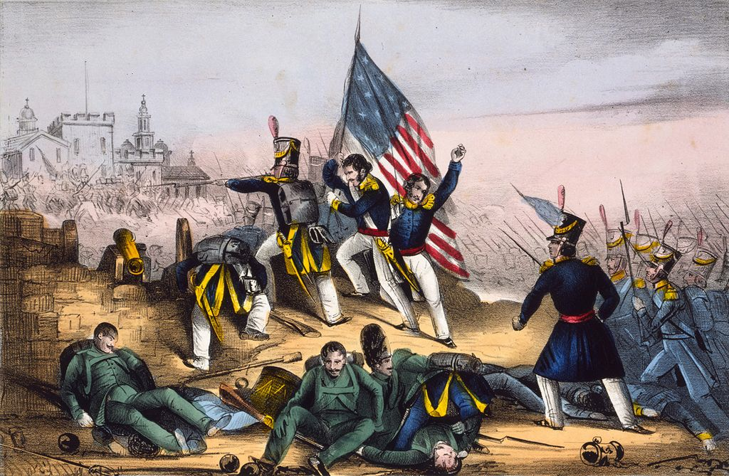 Rising Sectionalism: Mexican-American War 1846-1848: Mexican-American War Details: The war brought in new land that both