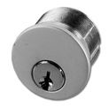 Cylinders/Trim Rings/ Collars Mortise Cylinder Description Material 19-573 Key Cylinder (Keyed Alike in Pairs) Aluminum Zinc 19-573BZ Key Cylinder (Keyed Alike in Pairs) Zinc 19-410 Key