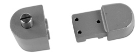 "Application Description Hand 19-424T 1/8"" Recessed Door Top - Aluminum"