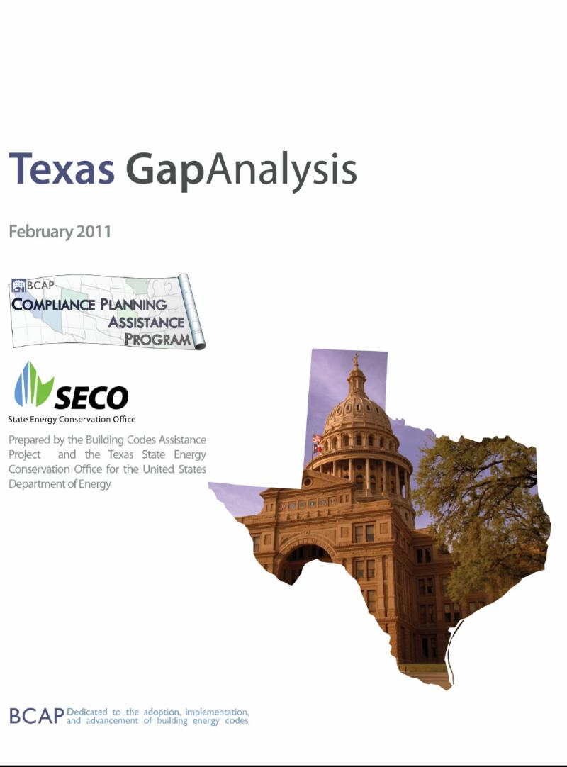 BCAP Gap Analysis - Texas 9 Good news - Texas has 320,397 Energy Star homes 29% of the total nationally 75% of