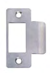 Separate auxiliary bolt moves into lock case simultaneously with latch bolt. Bolt stainless steel fire rated to 4 hours as standard. Electric strike compatible. 2 8 10 7 1 3.