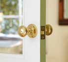 Rose Handles An alternative to a latch handle, rose handles are mounted on a small round or square backplate.