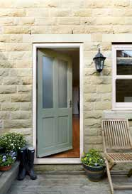 Glazed Stable Oak M&T Triple Glazed EKXT