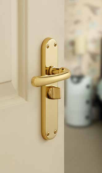 Idro Brass Latch DFU0601 H185mm x W40mm x D9mm Suitable for use with a tubular mortice latch (LAL0075/76/77/78/54/56/40) Lock DFU0600 H185mm x W40mm x D9mm Suitable for use with a 3 lever sashlock