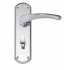 Garda Chrome Latch DFU0705 H179mm x W50mm x D10mm Suitable for use with a tubular mortice latch (LAL0075/76/77/78/55/57/41) Lock DFU0704 H179mm x W50mm x D10mm Suitable for use with a 3 lever