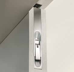 "Matching External Door Furniture Aluminium Letterplate 10"" x 3""/ L252mm x H80mm DFU0239 Aluminium Euro Profile Round Escutcheon D50mm DFU0203 Matching Door Accessories Aluminium Flush Bolt Aluminium"