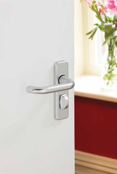 Aluminium Roundbar 19mm Latch DFU0302 H150mm x W40mm x D10mm Suitable for use with a tubular mortice latch (LAL0075/76 for commercial/fire rated use) (LAL0077/78/41 for heavy duty domestic use)