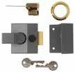 Yale 88 Grey Case Cylinder Nightlatch Yale 85 Grey Case/Brass Cylinder