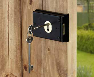 Rebate Kits Use when fitting either a mortice latch or sashlock to a pair of doors with rebated stiles (i.e. the doors overlap when closed).
