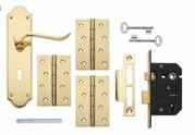 Chrissi Brass Lock & Latch Packs Packs