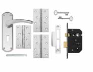 Pack LAL2030 Garda Chrome Lock & Latch Packs Packs