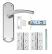 Lever Lock Pack LAL2080 Chrome Privacy Pack LAL2070