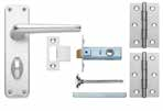 Edinburgh Aluminium Lock & Latch Packs Packs include door furniture,