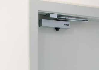 Door Closers Door closers are an important link in the control of fire and smoke and their usage can help save lives.